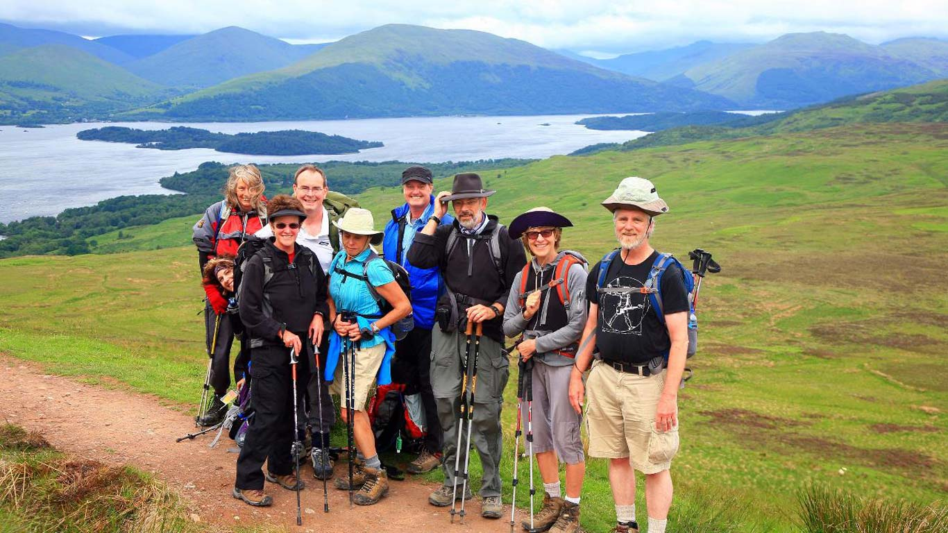Private Group Walking Holidays Scotland