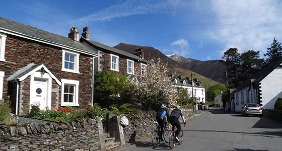 Self-Guided Cycling Holidays along Wainwright's Coast to Coast in England