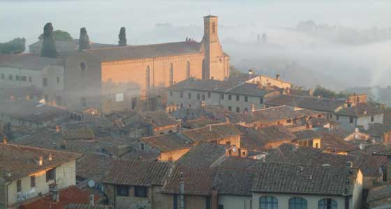 Cycle San Gimignano to Siena | Self-Guided Cycling Holidays in Italy