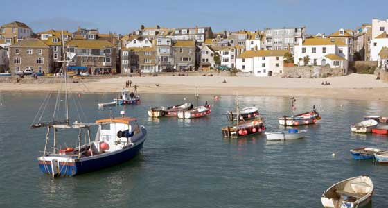 Self-Guided Walking Holidays along the United Kingdom's Cornish Coastal Path (West): St. Ives to Penzance