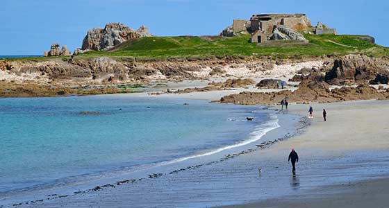Self-Guided Walking Holiday around UK's Channel Islands of Guernsey Islands - 7 Days