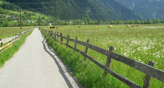 Self-Guided Walking Holidays in Austria's Tyrol ranges