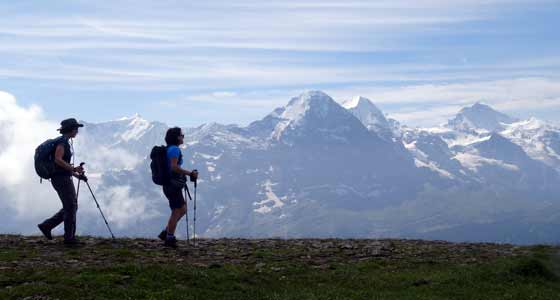 Self-Guided Walking Holidays in the Swiss Alps