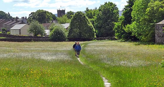 Self-Guided Walking Holidays along The Richmond Way in Yorkshire