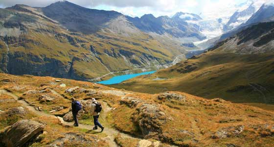 Self-Guided Walking Holidays along Switzerland's Haute Route