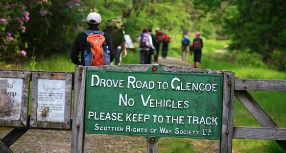 Self-Guided Walking Holidays along Scotland's West Highland Way