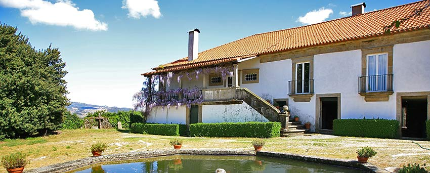Visit our 17th century accommodation on a Portugal walking holiday in September
