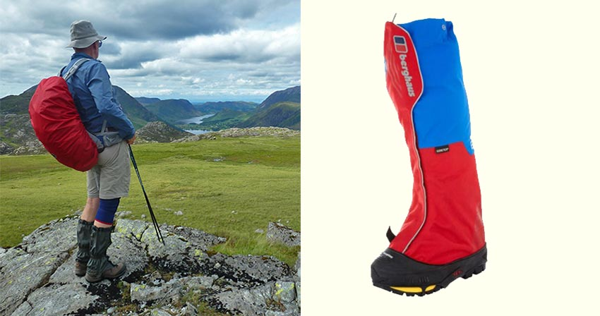 hiking gaiters - Sherpa walking holidays