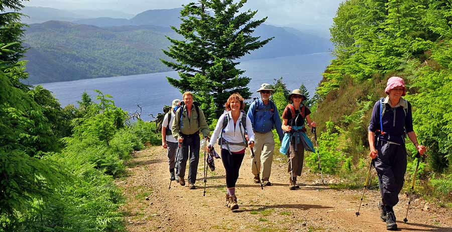 walking the Great Glen Way with Sherpa Expeditions