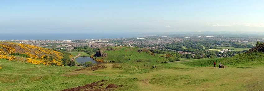 Arthur's Seat in Edinburgh - Sherpa Expeditions