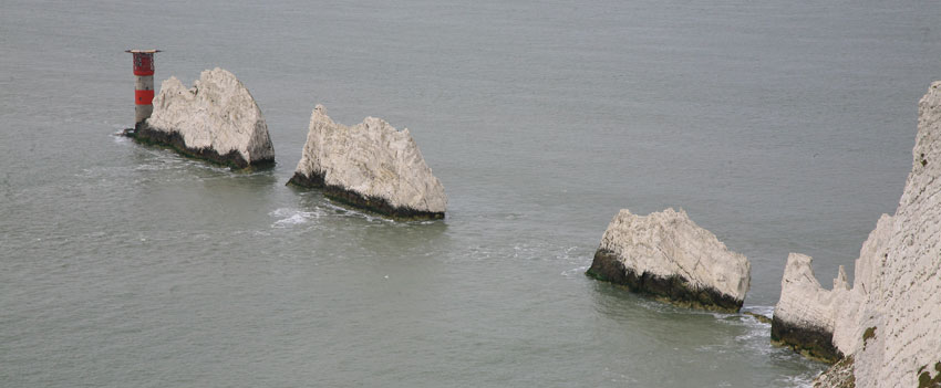 the needles, isle of wight - Sherpa walking holidays