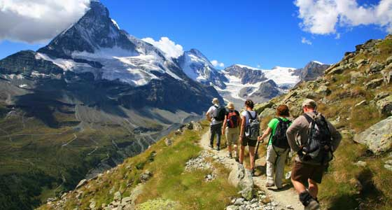 Guided Walking Holidays in Europe