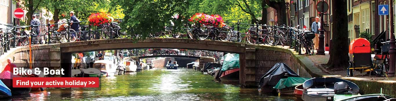 Bike and Boat Holidays in Amsterdam