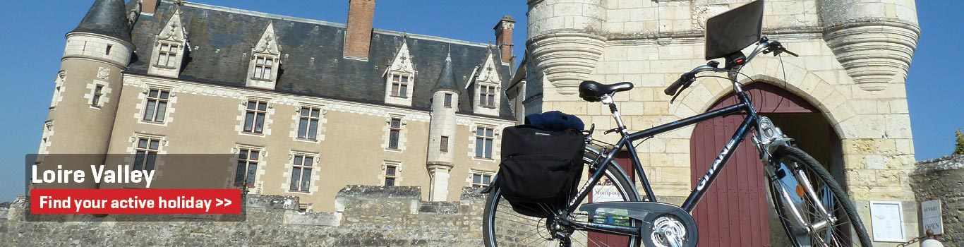 Self-Guided Cycling Holidays in the Loire Valley