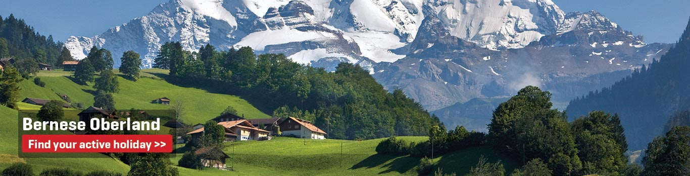 Self-Guided Walking Holidays in the Bernese Oberland