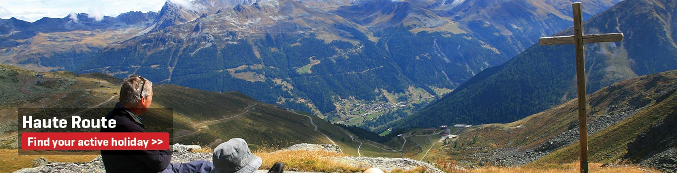 Walking Holidays on the Haute Route 5