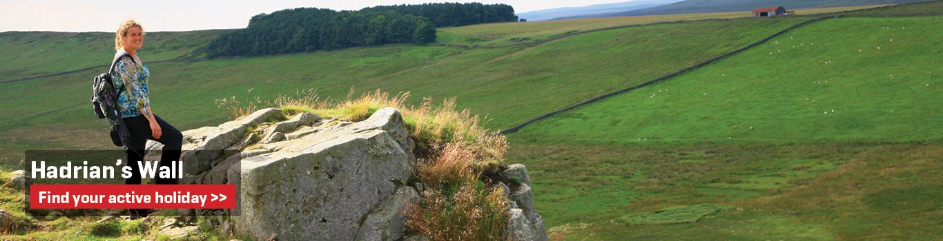 Hadrians Wall- Walking and Cycling Holidays in the United Kingdom