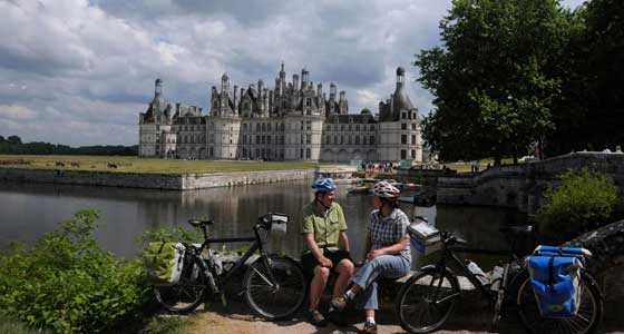 Loire Valley Bike & Barge Guided Cycling Holiday in France