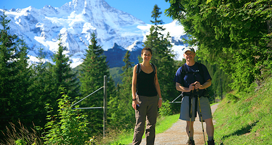 Self-Guided Walking Holidays along Switzerland's Alpine Pass Route