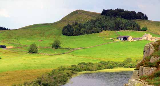 Self-Guided Walking Holidays along Hadrians Wall the United Kingdom