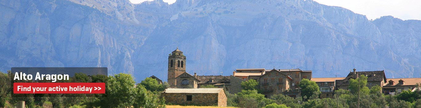 Self-Guided Walking Holidays in Alto Aragon
